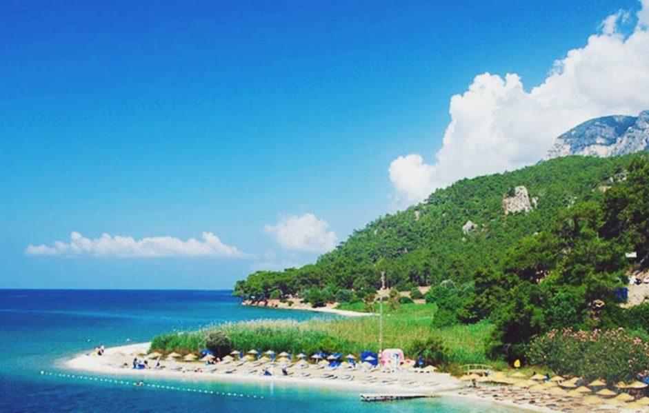 Turkey Mugla Akyaka best beaches