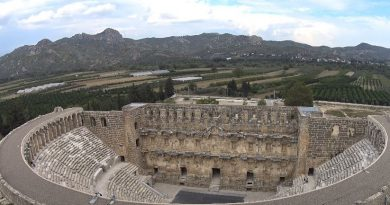 The Aspendos Antique Theatre of Antalya