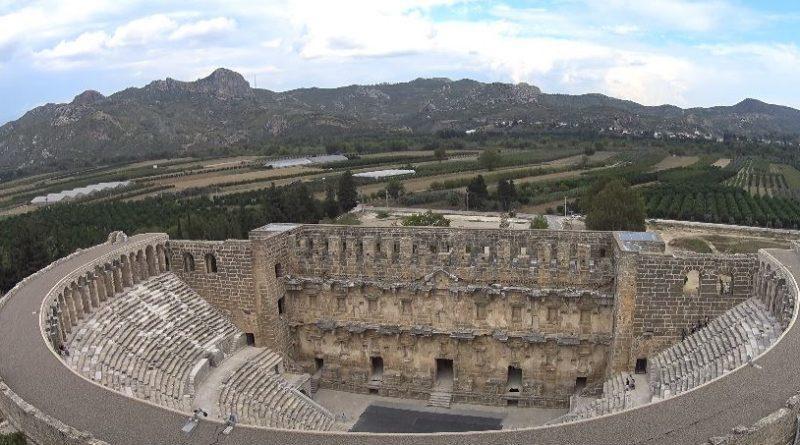 The Aspendos Antique Theatre of Antalya