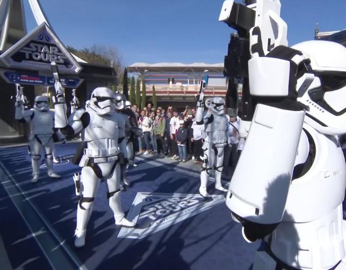 Star Wars at Disneyland Paris