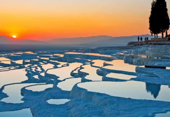 Escape to Pamukkale, Pamukkale Travertines Turkey