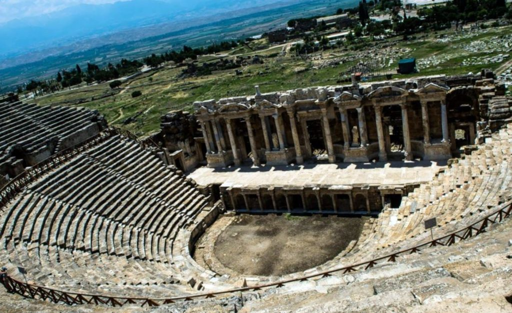 World heritage in Turkey Hierapolis