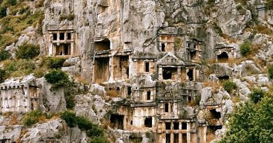 Ancient Site of Myra Lycia Lycian Turkey