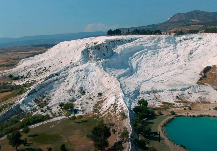 Pamukkale Travertines Turkey's Cotton Castle