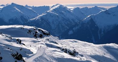 largest ski resort in North America, most popular places Whistler Blackcomb Ski Resort