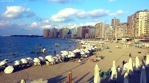 Beach Alexandria, Egypt