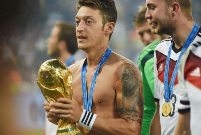 Mesut Ozil football player tattoos