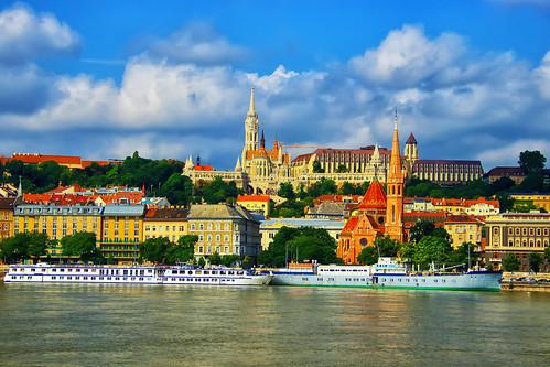 The Danube and Buda