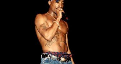 popular Tupac body tattoos