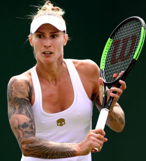Polona Hercog tattoos