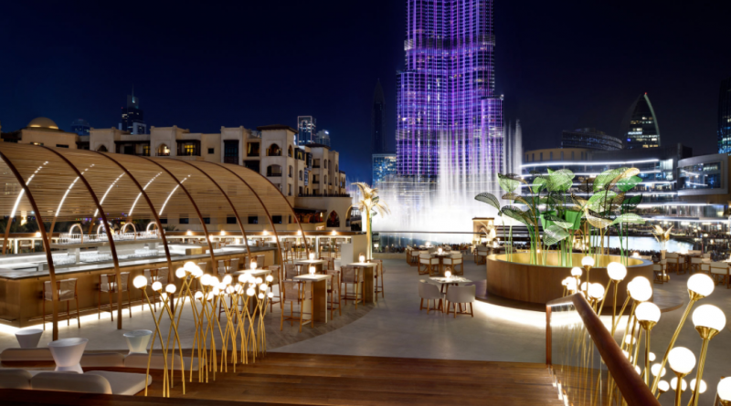Best Restaurants in Dubai With Fountain View