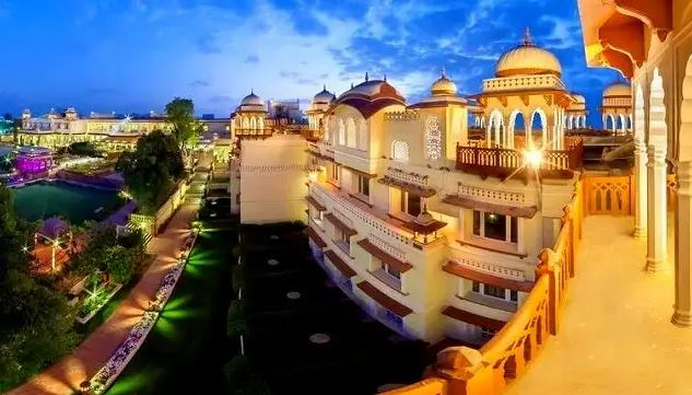 luxury accommodations in Jaipur