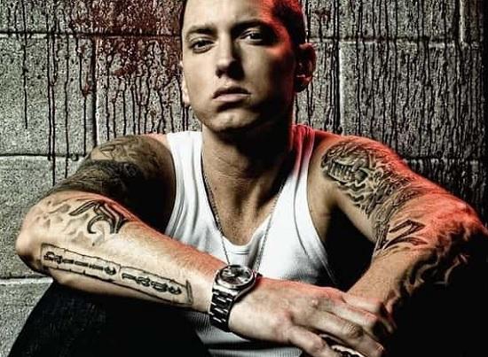 Eminem's Tattoos Photos